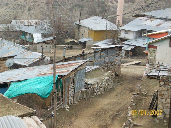 Güllüce köyü